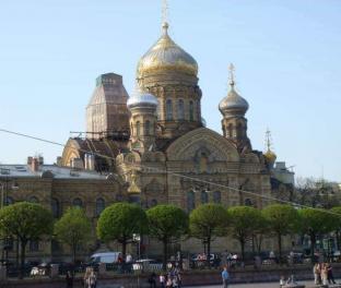 Храм на Васильевском о-ве